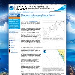 issues third new nautical chart for the Arctic