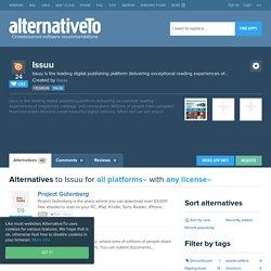 Issuu Alternatives