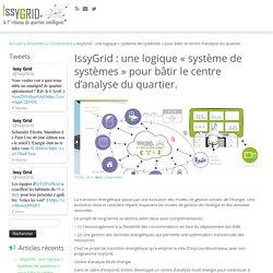 IssyGrid : une logique « système de systèmes » pour bâtir le centre d'analyse du quartier. – IssyGrid