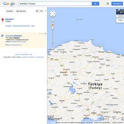 Istambul - GoogleMaps