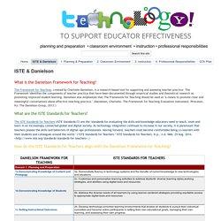ISTE & Danielson - EdTech & EE