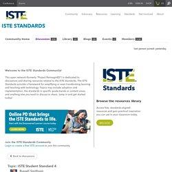 ISTE Standards - ISTE Community