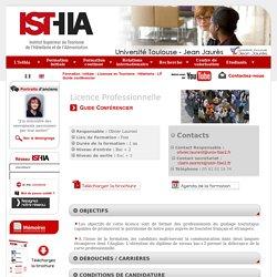 ISTHIA - LP Guide conférencier