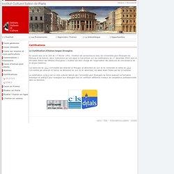 Dnl italien pearltrees for Institut culturel italien paris