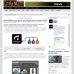 iStockPhoto propose un plugin pour Adobe CS6