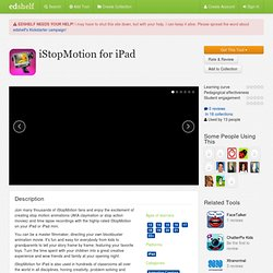 iStopMotion for iPad Reviews