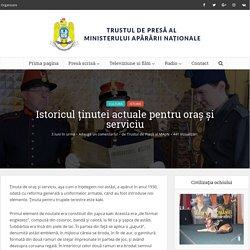 Istoricul ținutei actuale pentru oraș și serviciu - Trustul de Presa al Ministerului Apararii Nationale