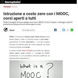 Istruzione a costo zero con i MOOC, corsi aperti a tutti