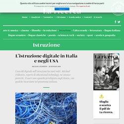 L'istruzione digitale in Italia e negli USA