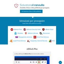 Salvatore Aranzulla - Istruzioni per proseguire