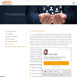 IT Consulting Services in NJ