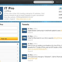 IT PRO Magazine (ITPRO) on Twitter