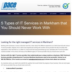Managed it services Markham