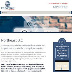 IT support company in Northeast BC