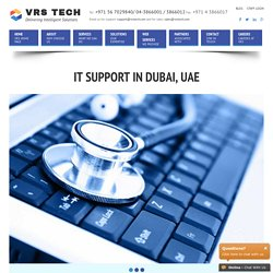 IT Support Dubai, UAE