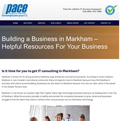 IT consulting Markham