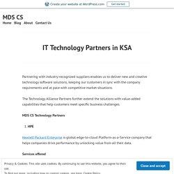 IT Technology Partners in KSA
