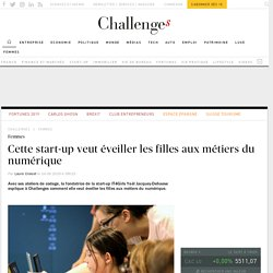 La start-up IT4Girls veut éveiller les filles aux métiers du numérique
