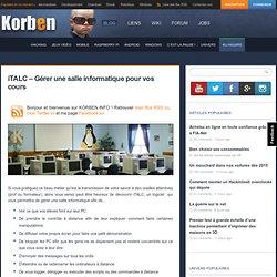iTALC – Gérer une salle informatique pour vos cours