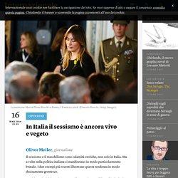 In Italia il sessismo è ancora vivo e vegeto - Oliver Meiler