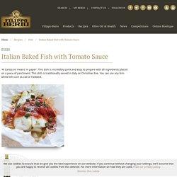 Italian Baked Fish with Tomato Sauce