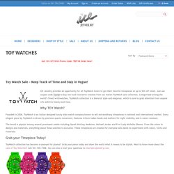 Toy Watch Italian Designed Fashionable Watches