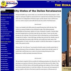 City-States of the Italian Renaissance