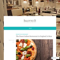 The Finest Italian Restaurant in England Is Here – The Food you Love, delivered at Home