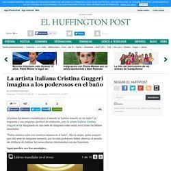 La artista italiana Cristina Guggeri imagina a los poderosos en el baño