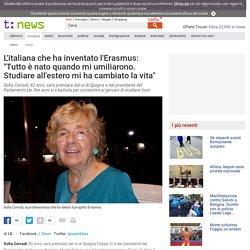 """Italiana ha inventato l'Erasmus: """"Quel giorno che mi umiliarono"""" - Tiscali Notizie"""