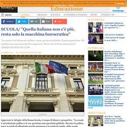 """""""Quella italiana non c'è più, resta solo la macchina burocratica"""""""