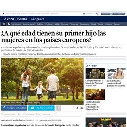 Italianas y españolas, madres primerizas de mayor edad en Europa