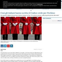 Così gli italiani hanno scritto il Codice civile per Pechino