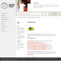 Italiano: Apritisesamo - Loescher Editore