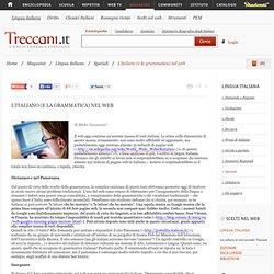L'italiano (e la grammatica) nel web
