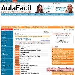 Curso Gratis de Italiano Nivel A2 - Índice de lecciones