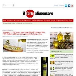 """""""Assieme"""" e """"Fai"""" sono i nuovi marchi dell'extra vergine 100% italiano a filiera corta, proposti da Coop e Sisa"""