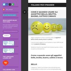 italiano per stranieri – Il blog di silvia spatafora