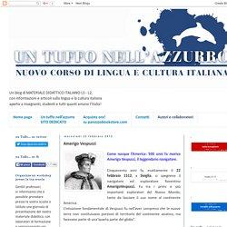 Un tuffo nell'azzurro: corso di italiano per stranieri, italiano L2 - LS: Amerigo Vespucci