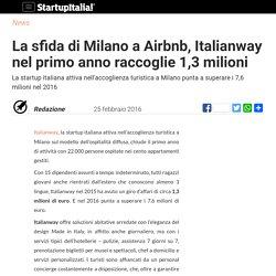 Italianway nel primo anno raccoglie 1,3 milioni