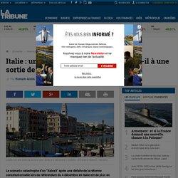 """Italie : un """"non"""" le 4 décembre conduira-t-il à une sortie de la zone euro ?"""