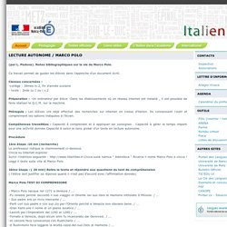 Italien - académie de Nancy Metz
