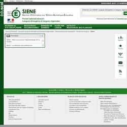 Italien - Langues étrangères et langues régionales - éduscol SIENE