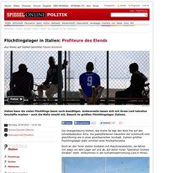 Italien: Das Geschäft mit den Flüchtlingen