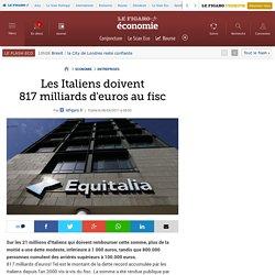 Les Italiens doivent 817milliards d'euros au fisc