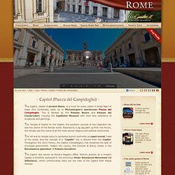 Capitol (Piazza del Campidoglio), Rome Italy - History and facts