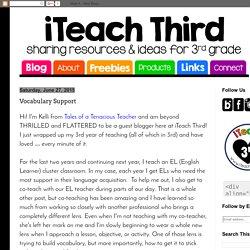 iTeach Third: Vocabulary Support
