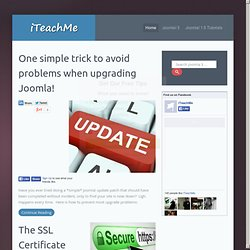 iTeachMe - Online Learning System for Joomla Users