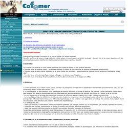 COFEMER- Enfant handicapé (Cours)