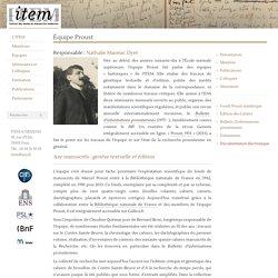 Item – Équipe Proust